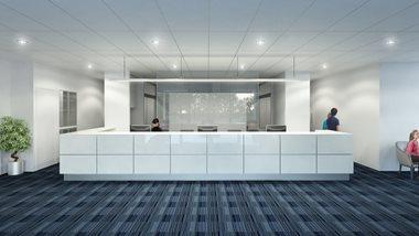 Avenue Health reception visualisation