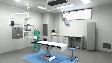Avenue Health operating theatre visualisation